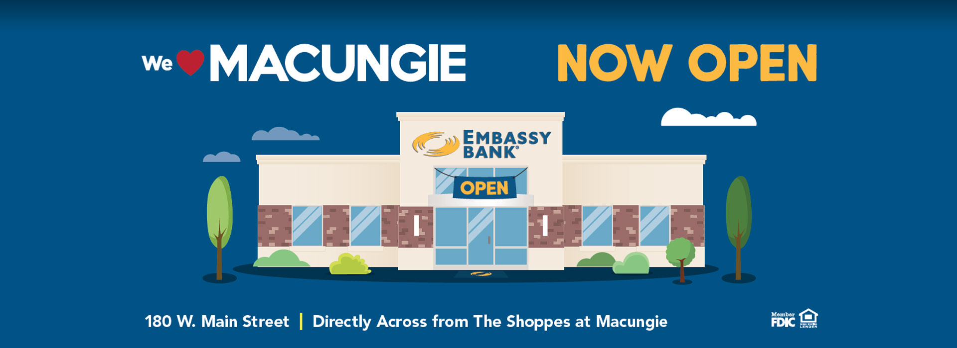 Macungie Now Open!