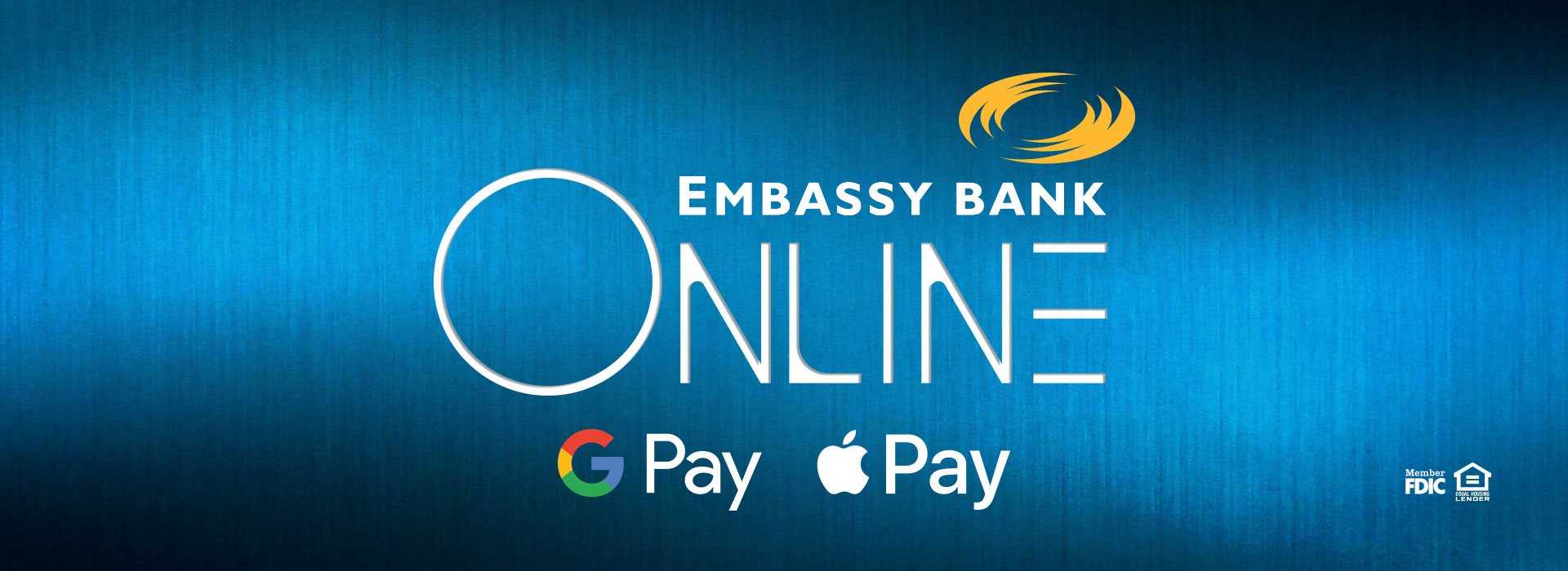 Apple and Google Pay with Embassy Bank